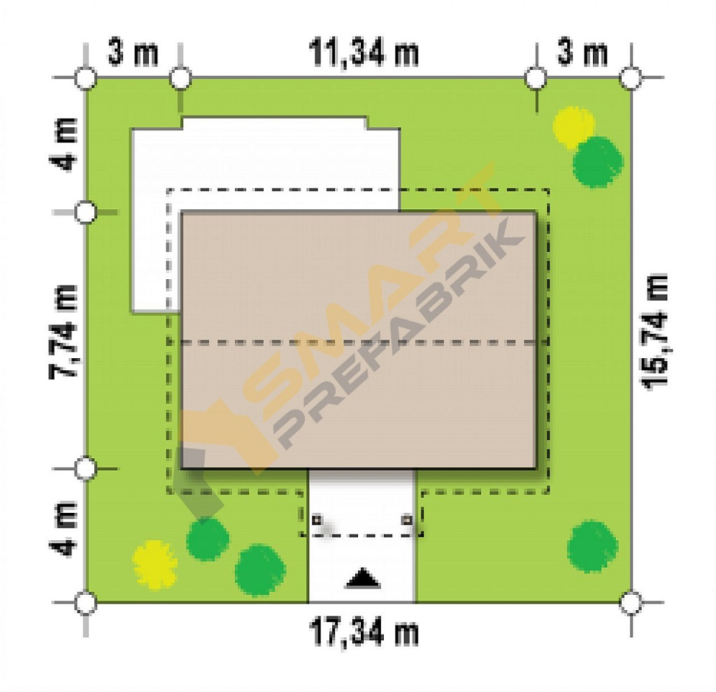69,7metrekarevilla_modeli-cati_plan