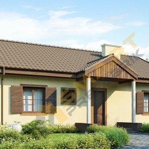 142,5 metrekare çelik ev modeli planı 3d hafif çelik evler