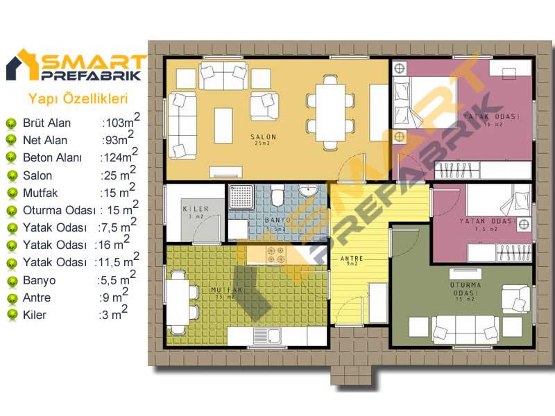 103_metre_kare_villa_modeli